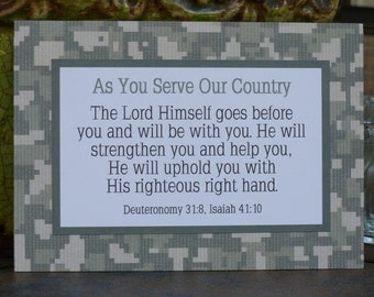 Military Service, Deployment, Care Package, Gift, Camo