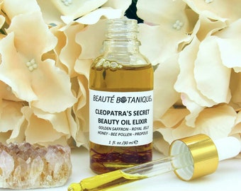 CLEOPATRA'S SECRET Beauty Oil Elixir with Beehive extracts & Saffron