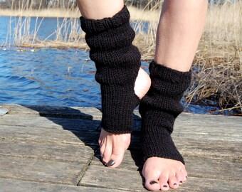 Yoga Socks,  Dance Socks,Toe-less Socks,  Knitted Spats,  Flip Flop Socks, Piyo Socks, Yoga Wear,  Pedicure socks, Knitted, Hand Knit