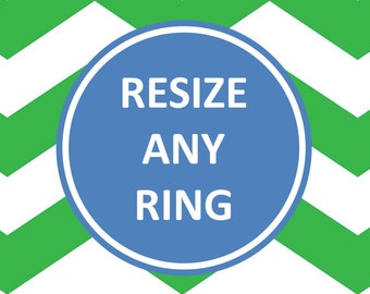 Sterling Silver Ring Resizing Adjustment