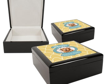 Personalized Photo Pet Memorial Keepsake Box, Memorial Gift, Pet Memorial, Pet