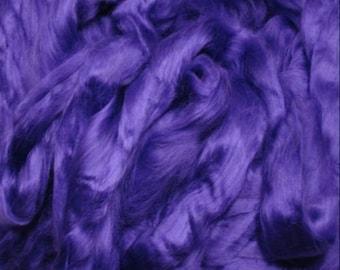 Bamboo Spinning Fiber Purple  - 4 oz