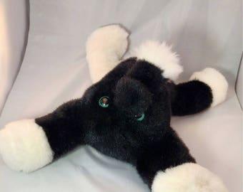 Bliq. Frankenfuzzy. Soft Sculpture. Stuffed animal. Toy