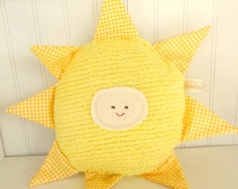 Sunshine Toy Eco Kids Toy  Natural Eco-Friendly Child Pillow Plush Sun