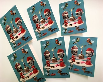 Christmas cards - packet of 6 limited edition, signed and numbered