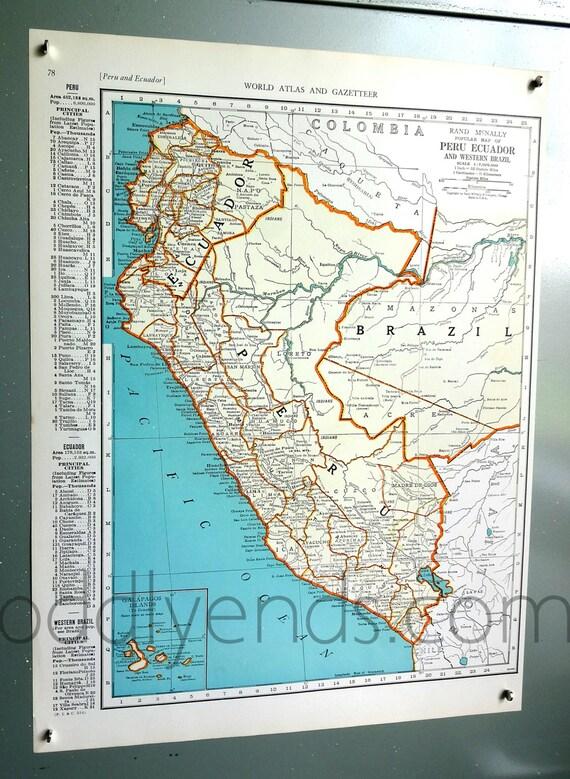 1939 per ecuador atlas mapa gumiabroncs Gallery