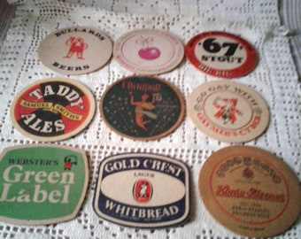 9 Vintage Beer Coasters For Your Next Party