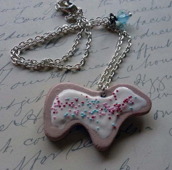 Animal Cookie Necklace