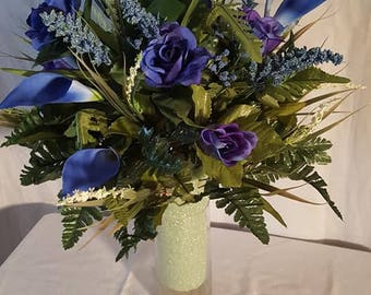 royal lilies and roses