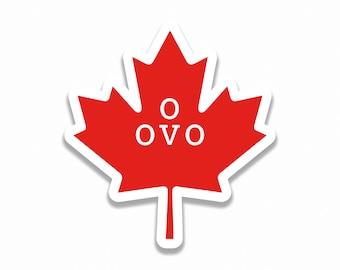OVO Leaf Sticker