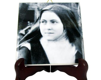 Catholic saints serie - St Therese of Lisieux - religious gifts - catholic gifts - Saint Therese of Lisieux - The Little Flower - Faith