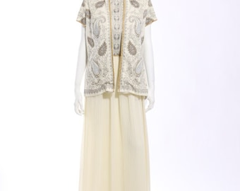 1970s Alfred Shaheen Dress and Jacket