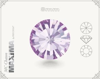 6 pc.+ SS39 (8mm) Preciosa MC Chaton MAXIMA - Violet Color