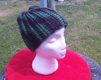 Camo Ribbed Hat