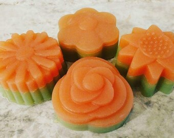 Organic Oils Soap with Grapefruit and Virginian Cedarwood Essential Oils (Very Lightly Scented)