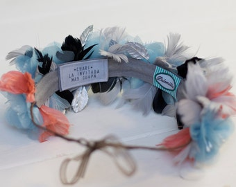 Personalized custom label  - Headbands and Crowns