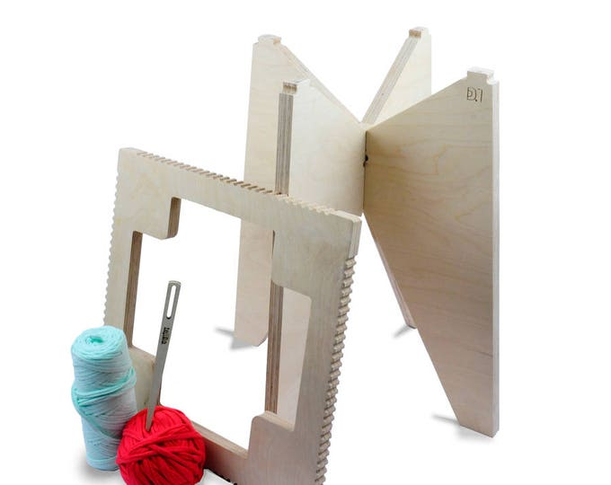 Featured listing image: Stool design loom Kit > > my kit Maillestool feet triangles and square seat > > learning kit