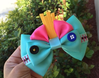 Scrump inspired hairbow