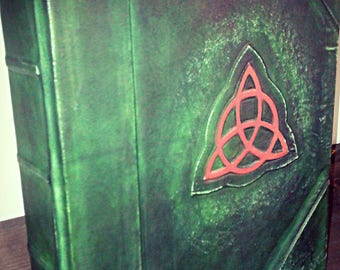 CHARMED book of shadows-wicca-REFILLABLE- blank pages, grimoire