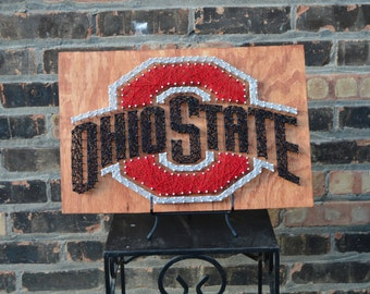 Ohio State String Art