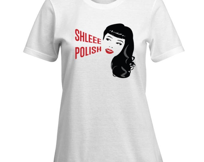 SALE! Shleee Polish logo women's tshirts