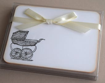 Baby Flat Note Cards - Set of 10