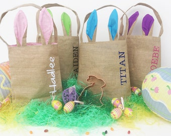 Crazy sale!  Personalized Bunny Ears Easter Bags!!