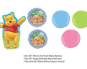 Winnie the Pooh Balloons