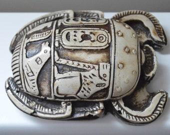 Egyptian beetle, Egyptian scarab, egyptian symbols, Egyptian, office decor, Egyptian statue, scarab statue, scarab sculpture, scarab beetle
