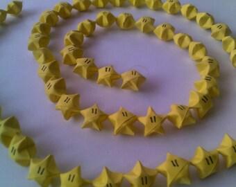 Super Star collection: Mario star Garland