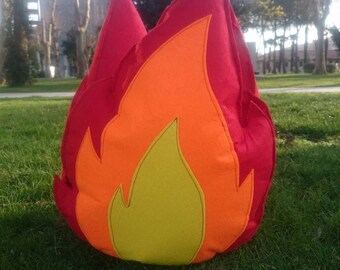 Felt Campfire Flame | Felt Toys | Toddler Pretend Play | Felt Campfire | Kids Campfire | Camping Decor | Playroom Decor | Camping Gift