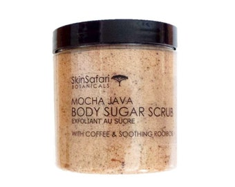 SUGAR BODY SCRUB, All Natural made with African Shea Butter - No Oily Residue