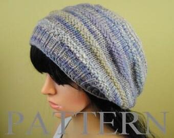 hat pattern/slouchy hat patternt