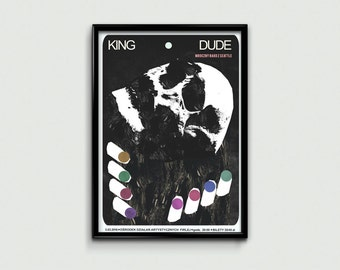 King Dude - music poster