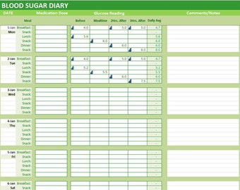 diabetes excel spreadsheet muco tadkanews co