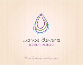 Premade Logo and Watermark, Custom Logo Design, Business logo Design,  Jewelry logo