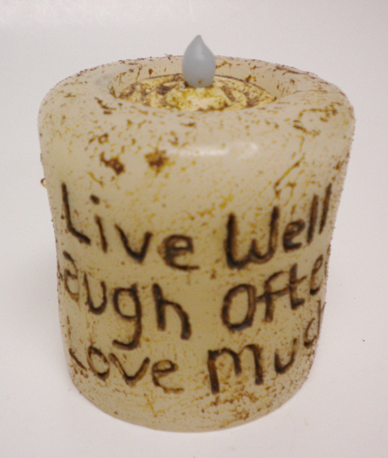 how to make primitive grubby candles