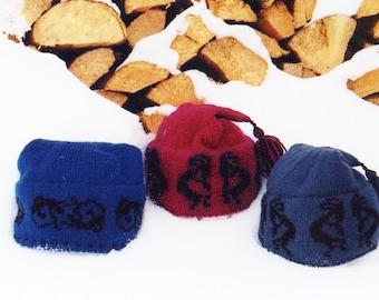 Kokopelli - Gecko Hat pattern for the Hand Knitter