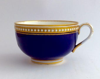 Beautiful Copeland Spode enamelled tea cup FREE SHIPPING