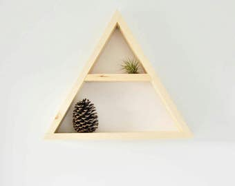 The Triangle Shelf with hanger