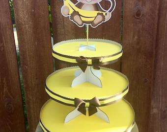 Monkey Cupcake Stand