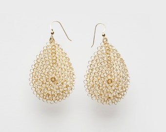 Tear Drop Earrings - Large