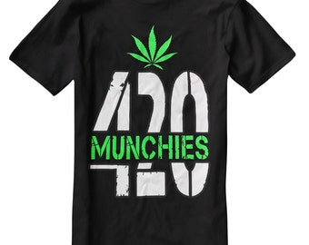 Munchies 420 Funny Humor Men's T-Shirt C003