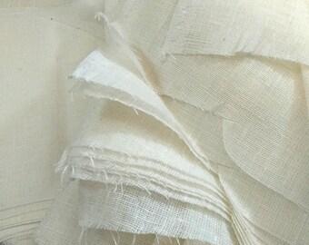 WHITE Fabric Scraps, Quilting Scrap Bundle, Quilt Scrap Bag, Bolt Ends, Fat Quarters, Remnants , Scrappy Quilt, 1 Pound,2-3  Yards By Weight