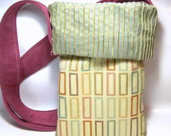Fabric Handbag Fashion Purse Tote Tarot Bag Recycled Gift Ideas Hobo Bags Modern Tote Small Purse gift for her Tarot bag, wine sack