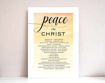 New Beginnings program, New Beginnings program, LDS, Young Womens program, Theme: PRINTABLE (Peace in Christ)