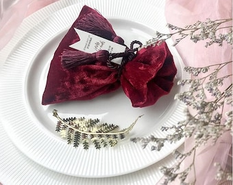 WHOLESALE Price - Pink Berry Velvet Jewellery Pouches - Jewellery Jewelry Supplies - Berry Pink Velvet Pouches - Gift Packaging - Sale