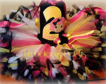 Lalaloopsy Tutu Dress, Crumbs Sugar Cookie Petti Tutu Dress, Lalaloopsy Birthday~ Kids Birthday Tutus~