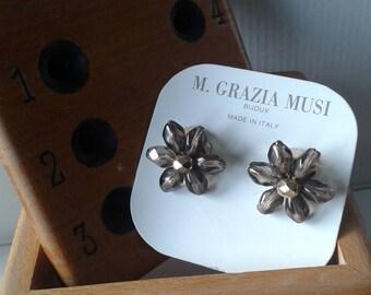 Italian Vintage - Maria Grazia Musi - Clip On Earrings – HANDMADE