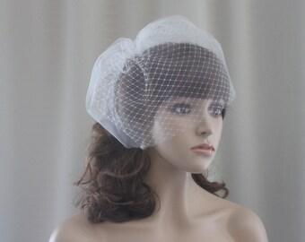 Double Birdcage Veil, Bridal Veil, Veil  Wedding Veil, Birdcage Veil, Bridal Birdcage Veil, Wedding Veil, Birdcage Wedding Veil